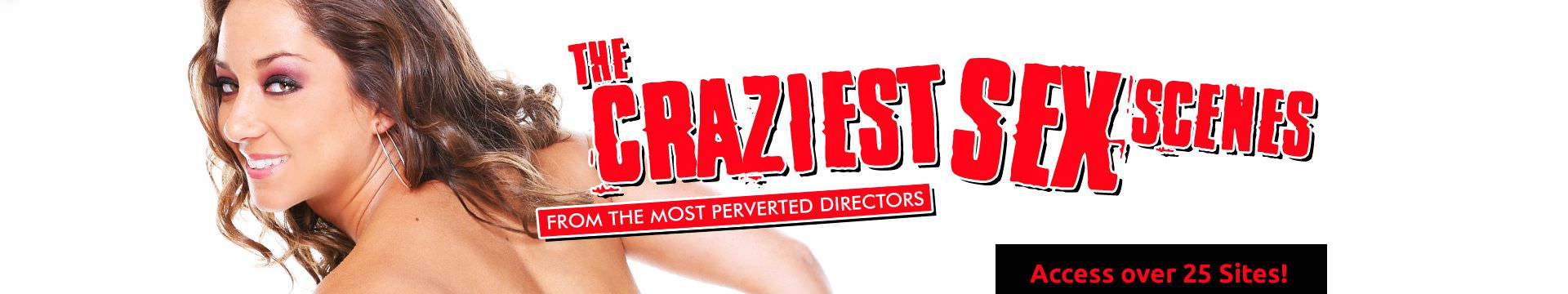 Evil Angel Network - The Craziest Sex Scenes From The Most Perverted Directors - Access Over 25 Sites!